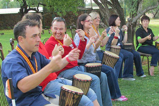 Teambo Drumming 2